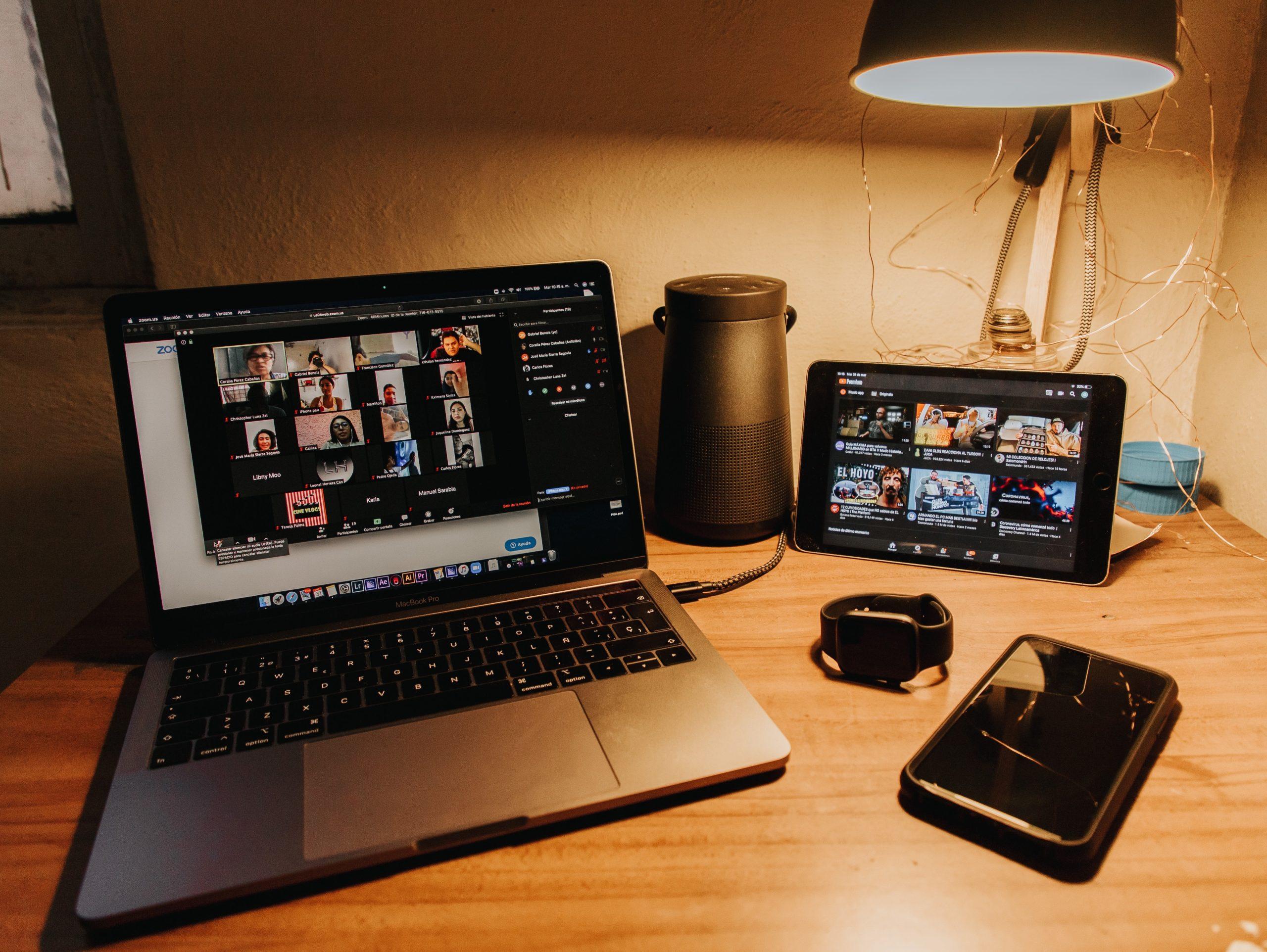 Teletrabajo: Aplicaciones de videoconferencia